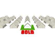 Verkaufshaus Stockfotos