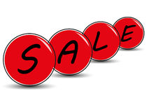Verkaufshintergrund Lizenzfreies Stockfoto
