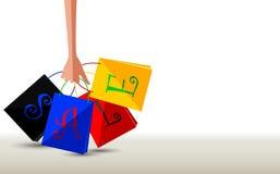 Verkaufskonzept für Sie Design Stockbilder