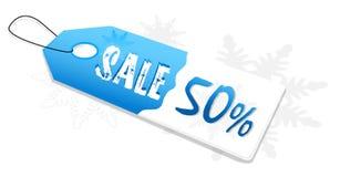 Verkaufsmarke Stockfoto
