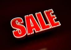 Verkaufsneon Lizenzfreie Stockfotos