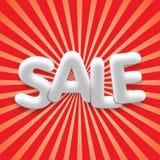 Verkaufsplakathintergrund lizenzfreie abbildung