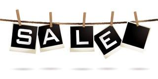Verkaufsstöpseldraht stock abbildung