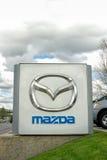 Verkaufsstelle Mazdas Autobile Lizenzfreie Stockfotografie