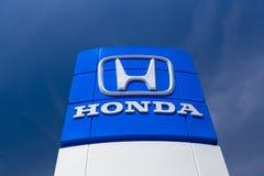 Verkaufsstelle-Zeichen Hondas Autombile Stockfotografie