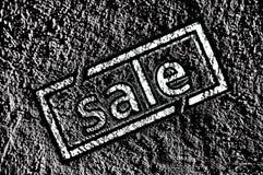 Verkaufsstempel Stock Abbildung