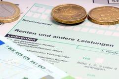 Verkaufssteuer-Rückkehr Lizenzfreie Stockbilder