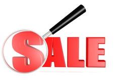 Verkaufssuchen Lizenzfreie Stockbilder