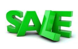 Verkaufstext Lizenzfreie Stockbilder