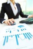 Verkaufsunterlagen Lizenzfreie Stockfotos