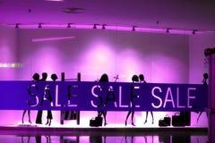 Verkaufszeichen Stockfoto