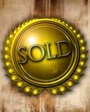 Verkauft Stockfotografie