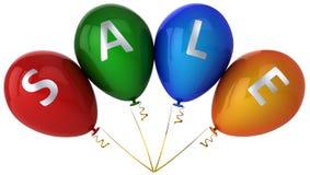 Verkaufverkaufsballone Lizenzfreies Stockbild