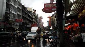 Verkeer in Bangkok stock footage