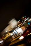 Verkeer bij Nacht Royalty-vrije Stock Afbeeldingen