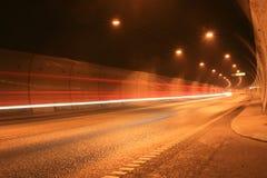Verkeer in de tunnel Stock Afbeeldingen