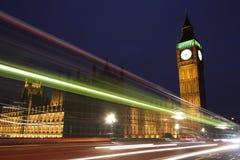 Verkeer door Londen Royalty-vrije Stock Foto's