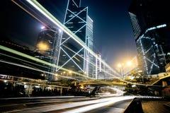 Verkeer in Hong Kong royalty-vrije stock afbeeldingen