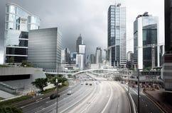 Verkeer in Hongkong Royalty-vrije Stock Afbeeldingen