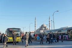 Verkeer in Istanboel Stock Foto's