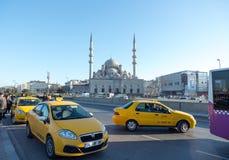 Verkeer in Istanboel Royalty-vrije Stock Afbeelding