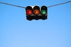 Verkeer-licht Royalty-vrije Stock Afbeeldingen