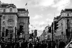 Verkeer Londen royalty-vrije stock foto's