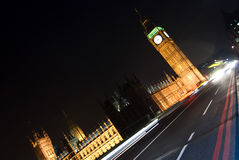Verkeer in Londen Royalty-vrije Stock Foto