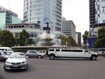 Verkeer in Mexico-City Royalty-vrije Stock Afbeeldingen