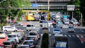 Verkeer in Tokyo stock videobeelden
