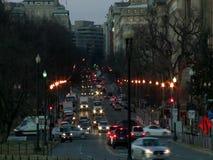 Verkeer in Washington DC stock videobeelden