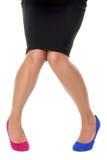 Verkeerde schoen royalty-vrije stock afbeelding