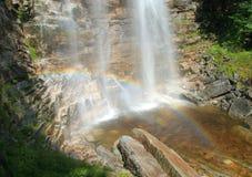 Verkeerder Abbruchs-Fall-Regenbogen lizenzfreie stockfotografie