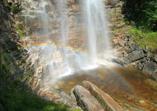 Verkeerder Kill Falls Rainbow Royalty Free Stock Photography