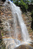 Verkeerder Kill Falls Rainbow Stock Photo