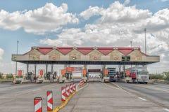 Verkeerdevlei opłaty drogowa plac północ Bloemfontein Zdjęcie Stock