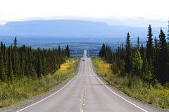 Verkeersader door Alaska Royalty-vrije Stock Fotografie