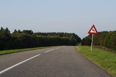 Verkeersbord, panneau routier photos libres de droits