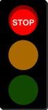 Verkeerslichteinde vector illustratie