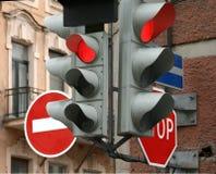Verkeerslichten Stock Foto