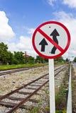 Verkeersteken Stock Foto's