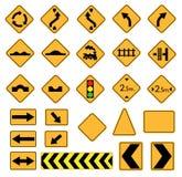 Verkeersteken Stock Afbeeldingen