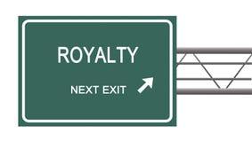 Verkeersteken aan royalty royalty-vrije stock foto