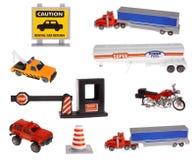 Verkeersteken en vervoer Royalty-vrije Stock Afbeelding