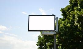 Verkeersteken - zonder tekst Royalty-vrije Stock Afbeelding