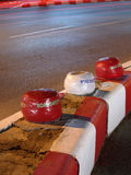 Verkeersveiligheidsteken Stock Afbeelding