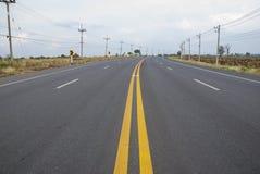 Verkehr auf dem Weg Thailand Lizenzfreies Stockbild