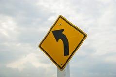 Verkehr auf der Kurvenweise Lizenzfreies Stockbild