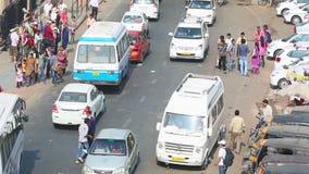 Verkehr auf Straße stock video footage