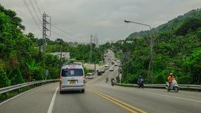 Verkehr auf Stra?e lizenzfreie stockfotografie